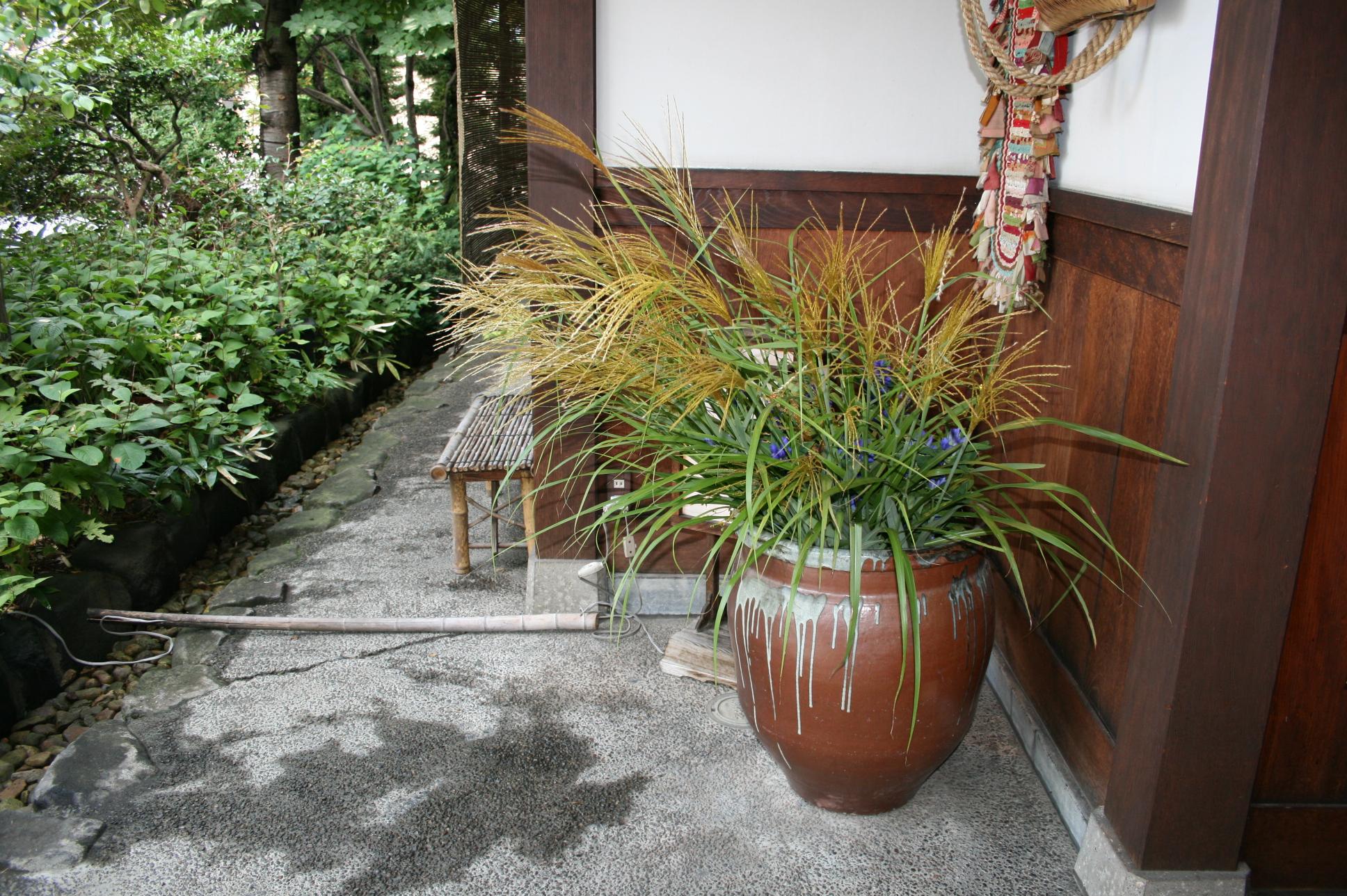 菊之湯玄関